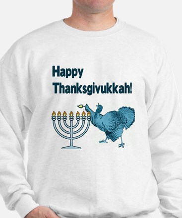 Happy Thanksgivukkah Sweatshirt