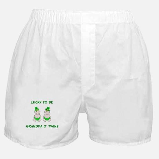 Grandpa O' Twins Boxer Shorts