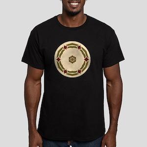 Nubble Light Island St Men's Fitted T-Shirt (dark)