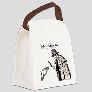 Hello whats this Canvas Lunch Bag