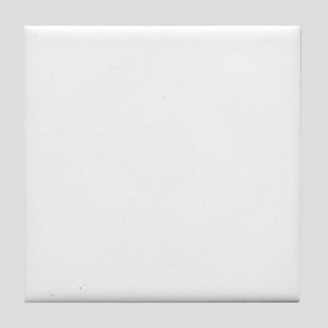 rocked-cross-white Tile Coaster