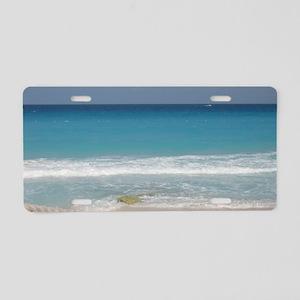 Cancun Beach Aluminum License Plate