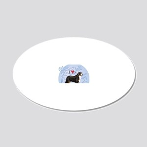 berner-charm2 20x12 Oval Wall Decal