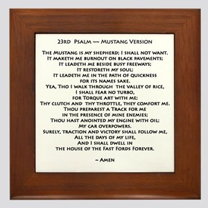 10x10_must psalmBKprntFlt copy Framed Tile