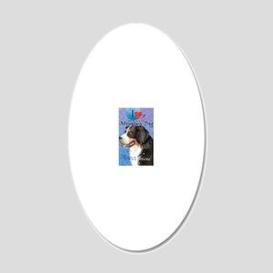 berner-key1 20x12 Oval Wall Decal