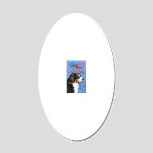 berner-oval key 20x12 Oval Wall Decal