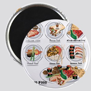 What is American Food? Magnet