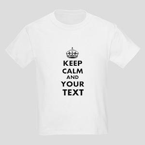 Keep Calm Customize Kids Light T-Shirt