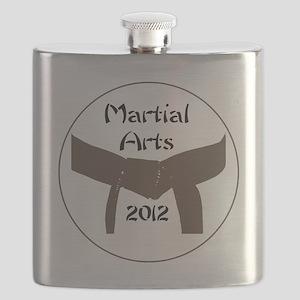 Martial Arts Brown Belt Flask