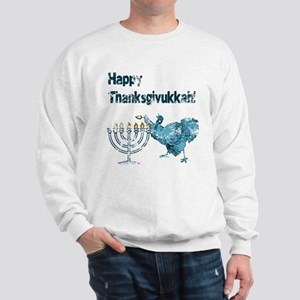 Vintage Happy Thanksukkah Sweatshirt