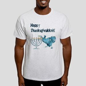 Vintage Happy Thanksukkah T-Shirt