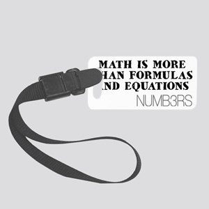 FormulasEquationsHat Small Luggage Tag