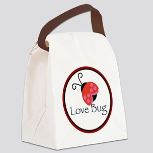 Love Bug Canvas Lunch Bag