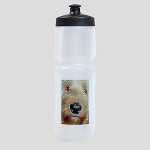 Big black squishy nose Sports Bottle