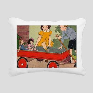 dickjaneride3puz Rectangular Canvas Pillow