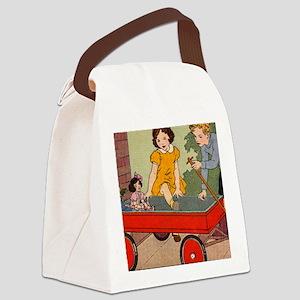 dickjaneride3puz Canvas Lunch Bag