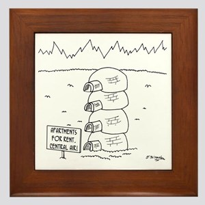 5920_apartment_cartoon Framed Tile