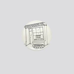 5922_pool_cartoon Mini Button
