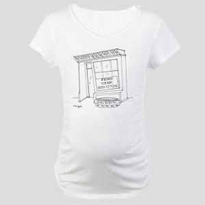 5922_pool_cartoon Maternity T-Shirt