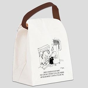 5919_HVAC_cartoon Canvas Lunch Bag