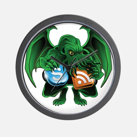 CthulhuOnly Transparent 10x10 Wall Clock