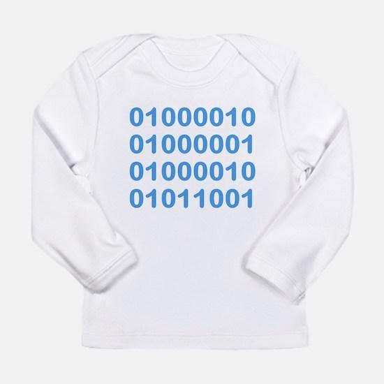 BABY in Binary Code Long Sleeve T-Shirt