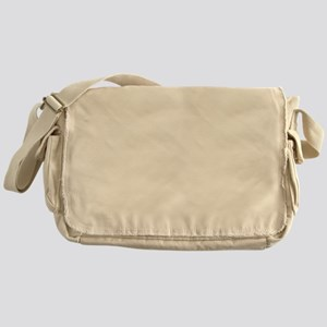 Sexy Beast White Messenger Bag