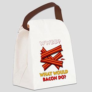 wwbd-2012-k Canvas Lunch Bag