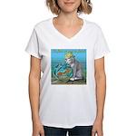 Fish Women's V-Neck T-Shirt