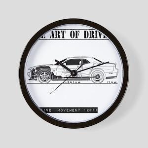 car drive auto race dc Wall Clock