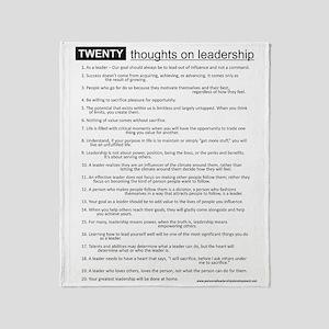 leadership Throw Blanket