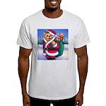 Santa Teddy Light T-Shirt