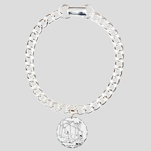 5776_construction_cartoo Charm Bracelet, One Charm