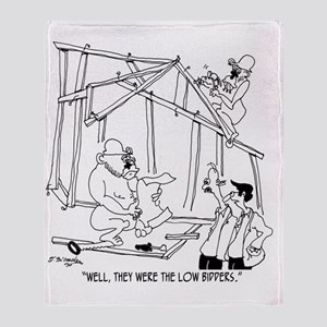5776_construction_cartoon Throw Blanket