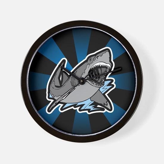 Shark Great White Ocean Wall Clock
