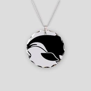 killer whale Necklace Circle Charm