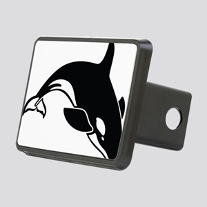 killer whale Rectangular Hitch Cover