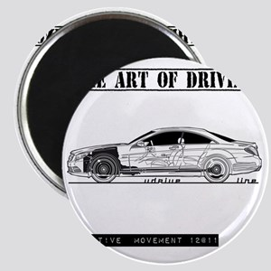 car drive auto race mb Magnet