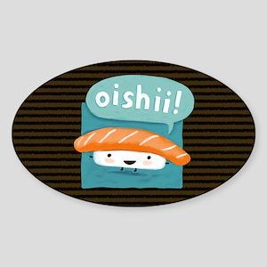 oishiiclutch Sticker (Oval)