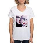 Unmasked Women's V-Neck T-Shirt