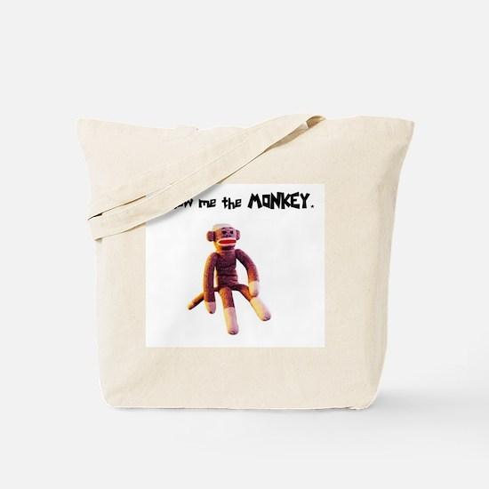 Show Me The Monkey Tote Bag