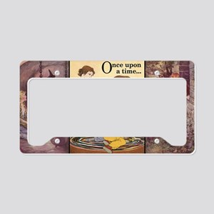 onceupontimecup2 License Plate Holder