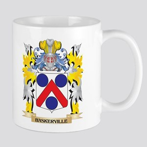 Baskerville Coat of Arms - Family Crest Mugs