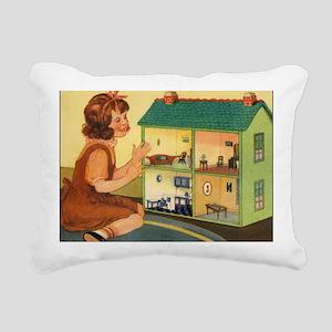 dollhouse2 Rectangular Canvas Pillow