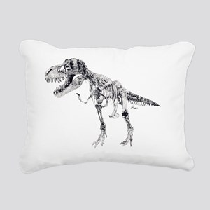 10x10_apparel dino skell Rectangular Canvas Pillow