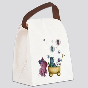 funhippos Canvas Lunch Bag