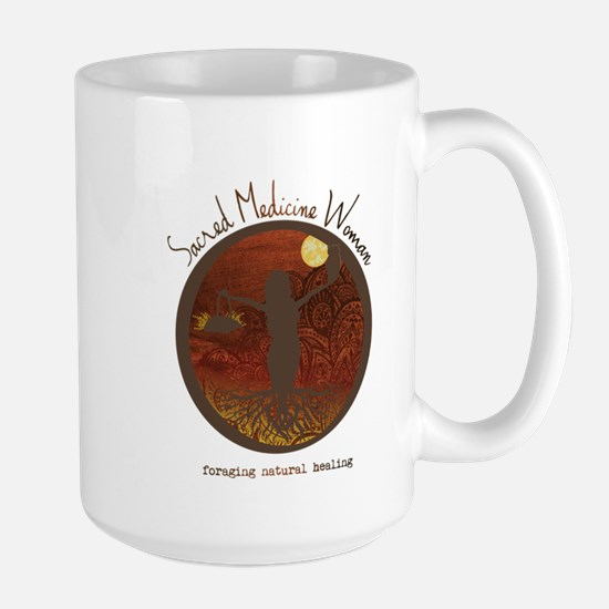 Sacred Medicine Woman Mugs