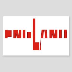 England Sticker (Rectangle)