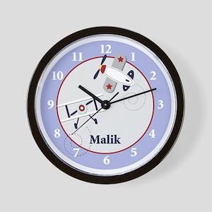 Malik Airplane clock Wall Clock