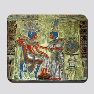 Tutankhamons Throne Mousepad